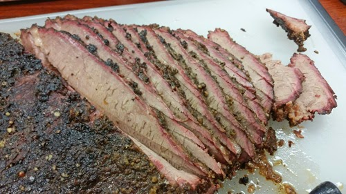 brisket big green egg