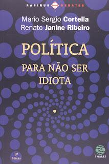 livro cortella política para não ser idiota