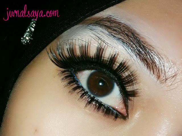 bulu mata palsu dari  human hair