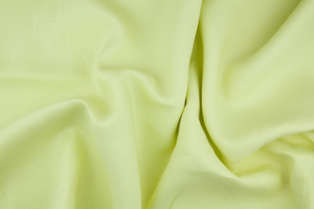 Apple Green Handkerchief Linen Fabric