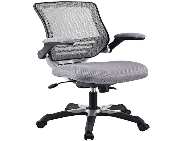 buy best low priced ergonomic office chair grey for sale