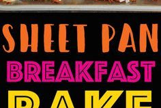 Sheet Pan Breakfast Bake Recipe