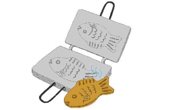 Khuôn bánh quy hình con cá