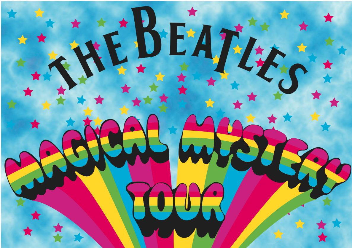 newtopia all the unknown beauty magical mystery tour the beatles by giuse. Black Bedroom Furniture Sets. Home Design Ideas