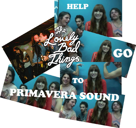 The Lovely Bad Things- Video Update- Help The So Cal Rockers get to Primavera Sound Festival and represent!