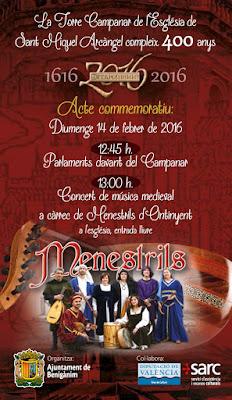 Concert Menestrils a Beniganim