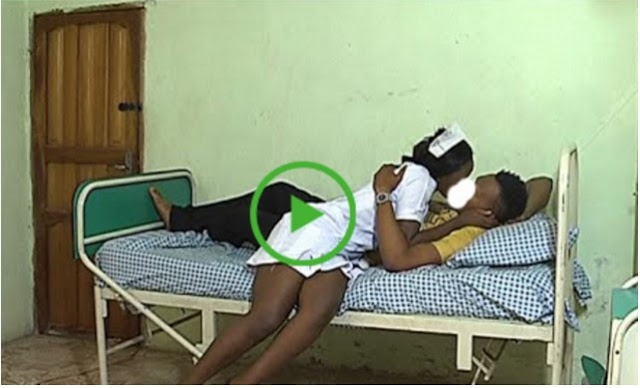 Watch This Video !! Nurse c@ught in action with patient in hospital