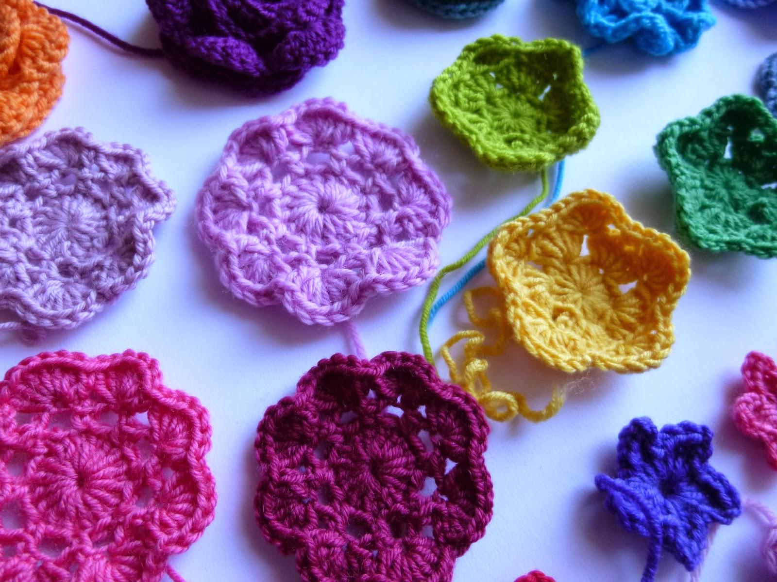 Häkeln Im Quadrat Blüten Baukasten