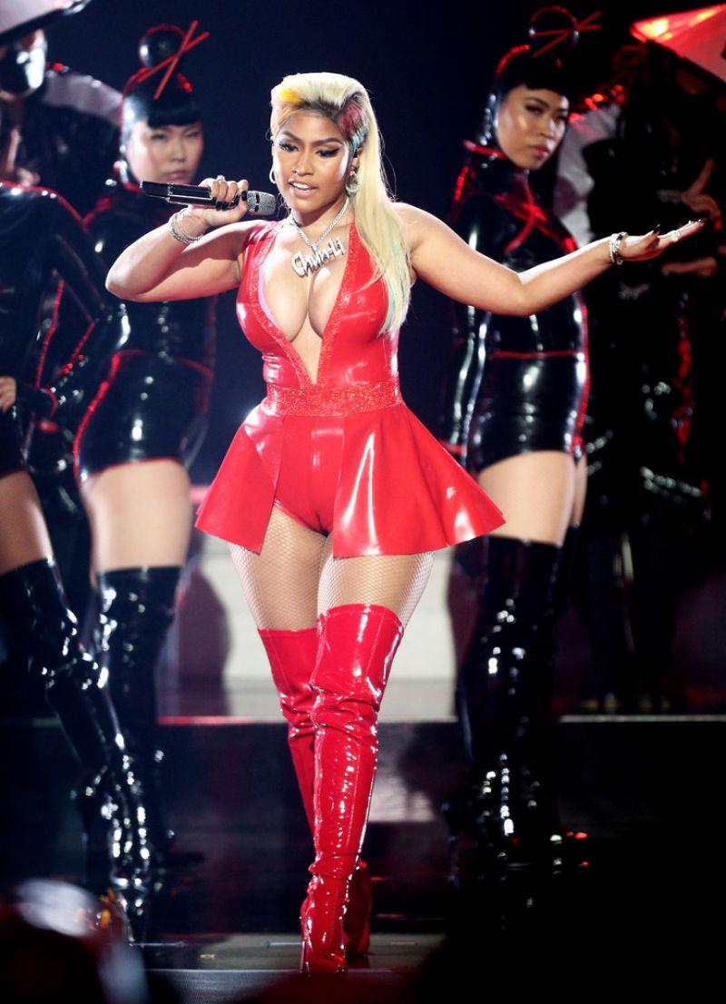 Nicki Minaj cameltoes at 2018 BET Awards