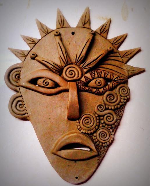Terracotta Wall Mask