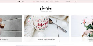 Carolina blogger template 2018