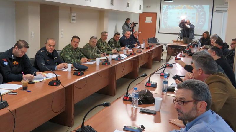 Συνεδρίασε το Συντονιστικό Όργανο Πολιτικής Προστασίας Έβρου ενόψει της επερχόμενης κακοκαιρίας