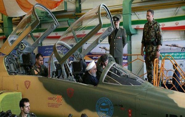 Jet tempur Kowsar Iran