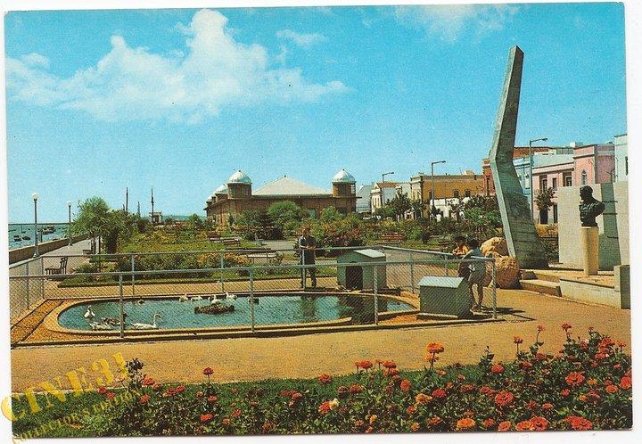 Resultado de imagem para fotos antigas do Jardim PatrãoJoaquim Lopes em Olhão