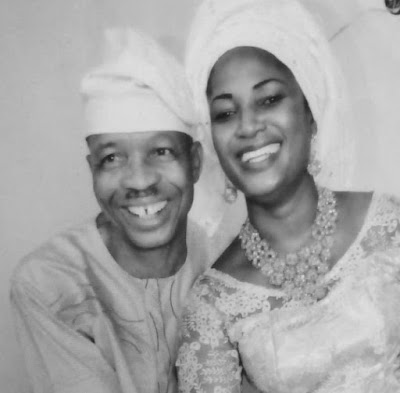 Actor Saka And Wife, Olaide Celebrate 15th Wedding Anniversary