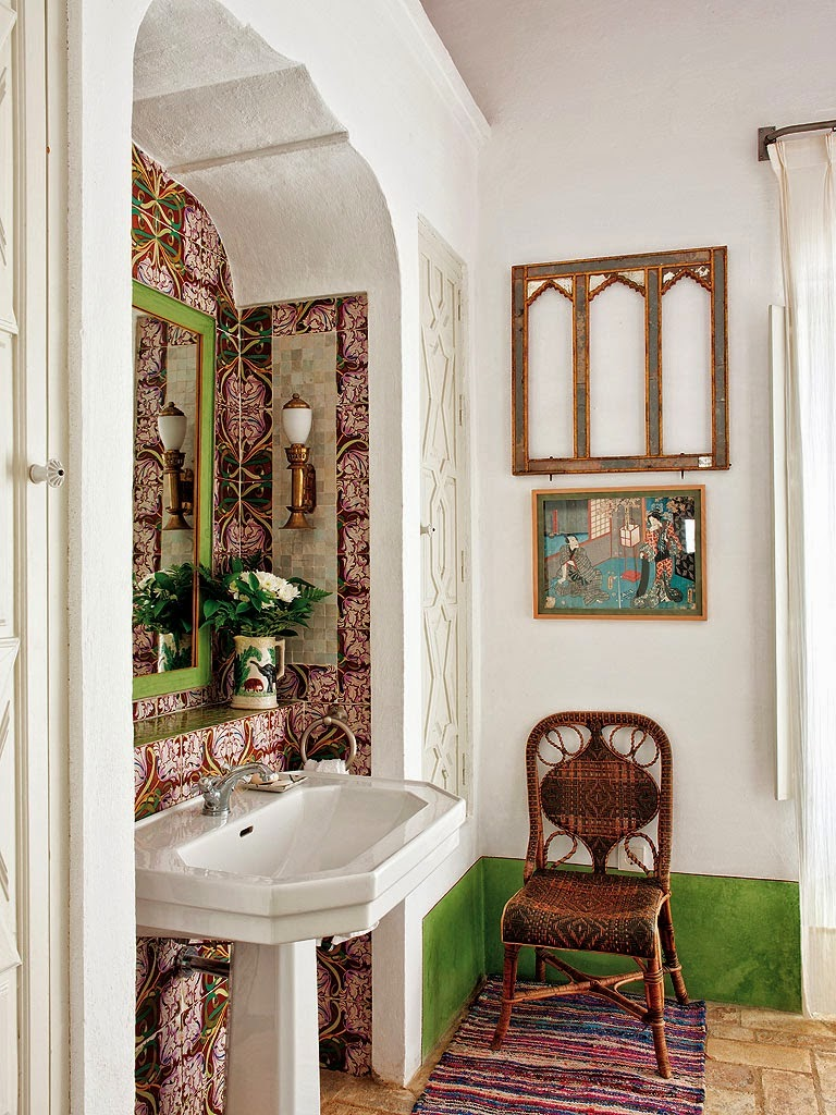 eclectic bohemian style interiors/lulu klein