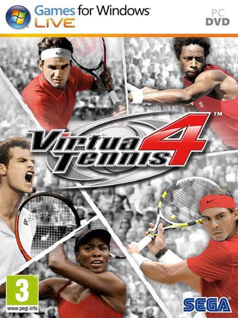 تحميل لعبة Virtua Tennis 4 مضغوطة برابط واحد مباشر + تورنت كاملة مجانا