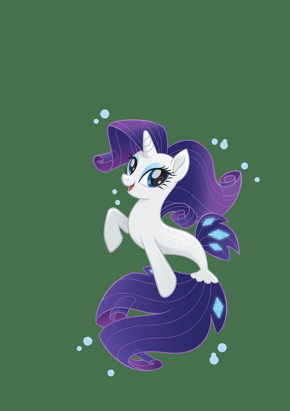 MLP Movie Vector Sea Pony Rarity