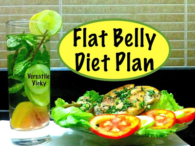 Flat Belly Diet : The Four Week Eating Plan