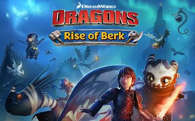 لعبة Dragons Rise of Berk للأندرويد، لعبة Dragons Rise of Berk مدفوعة للأندرويد