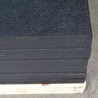 Greatmats rubber mats stacked on pallet