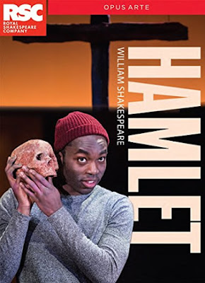 Paapa Essiedu is Hamlet in 2016 Simon Godwin Production of Shakespeare s  Hamlet  by the Royal Shakespeare Company on an Opus Arte DVD
