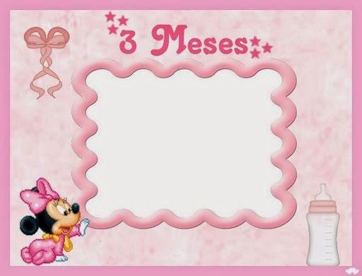 Minnie Bebé: Album de Fotos para Imprimir Gratis. | Ideas y material ...