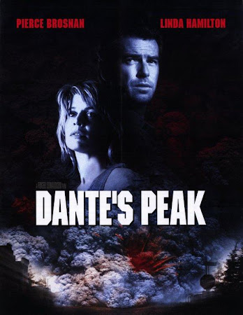 Poster Of Dante's Peak In Dual Audio Hindi English 300MB Compressed Small Size Pc Movie Free Download Only At worldfree4u.com