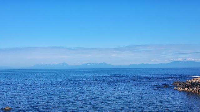 網走からの知床半島