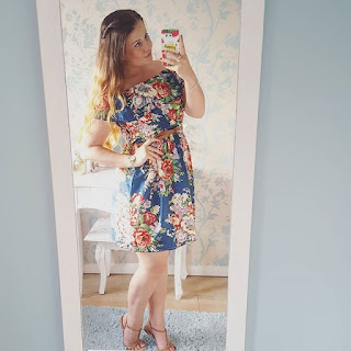 ali express floral dress