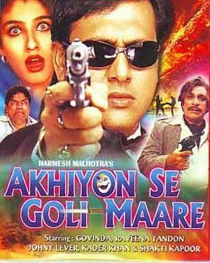 Akhiyon Se Goli Maare 2002 Hindi 720p DVDRip 1GB