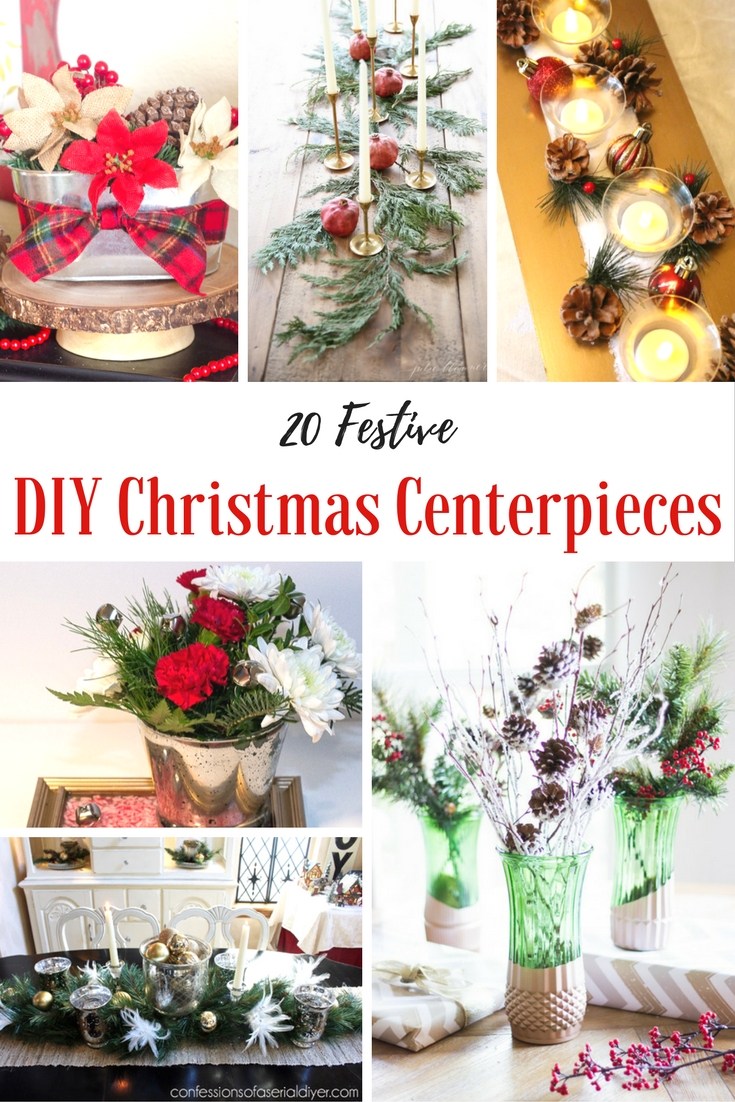 How to Make a Christmas Centerpiece - 20 Easy DIYs