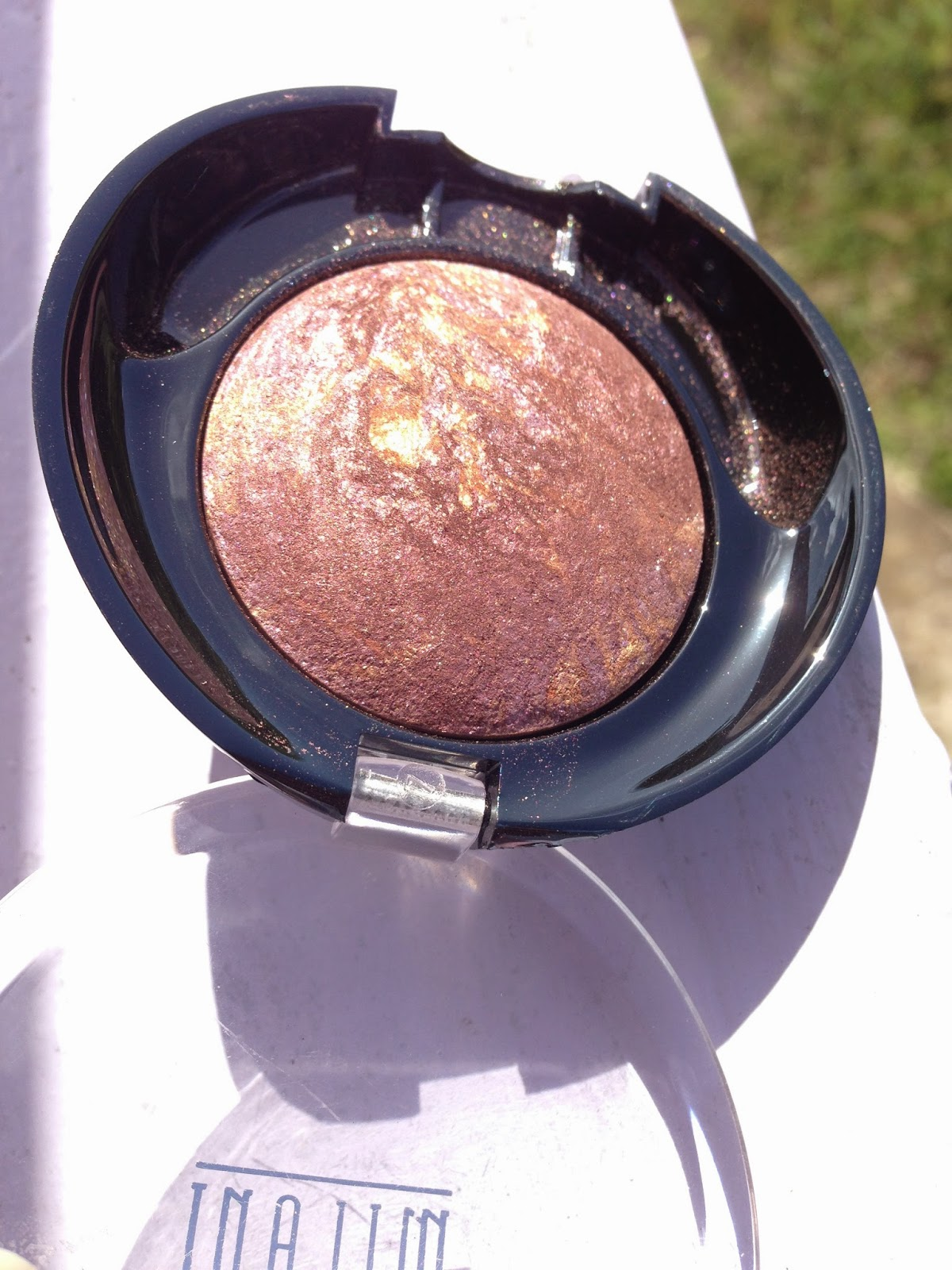 Milani Marbleized Baked Eyeshadow 'Fusion' - www.modenmakeup.com