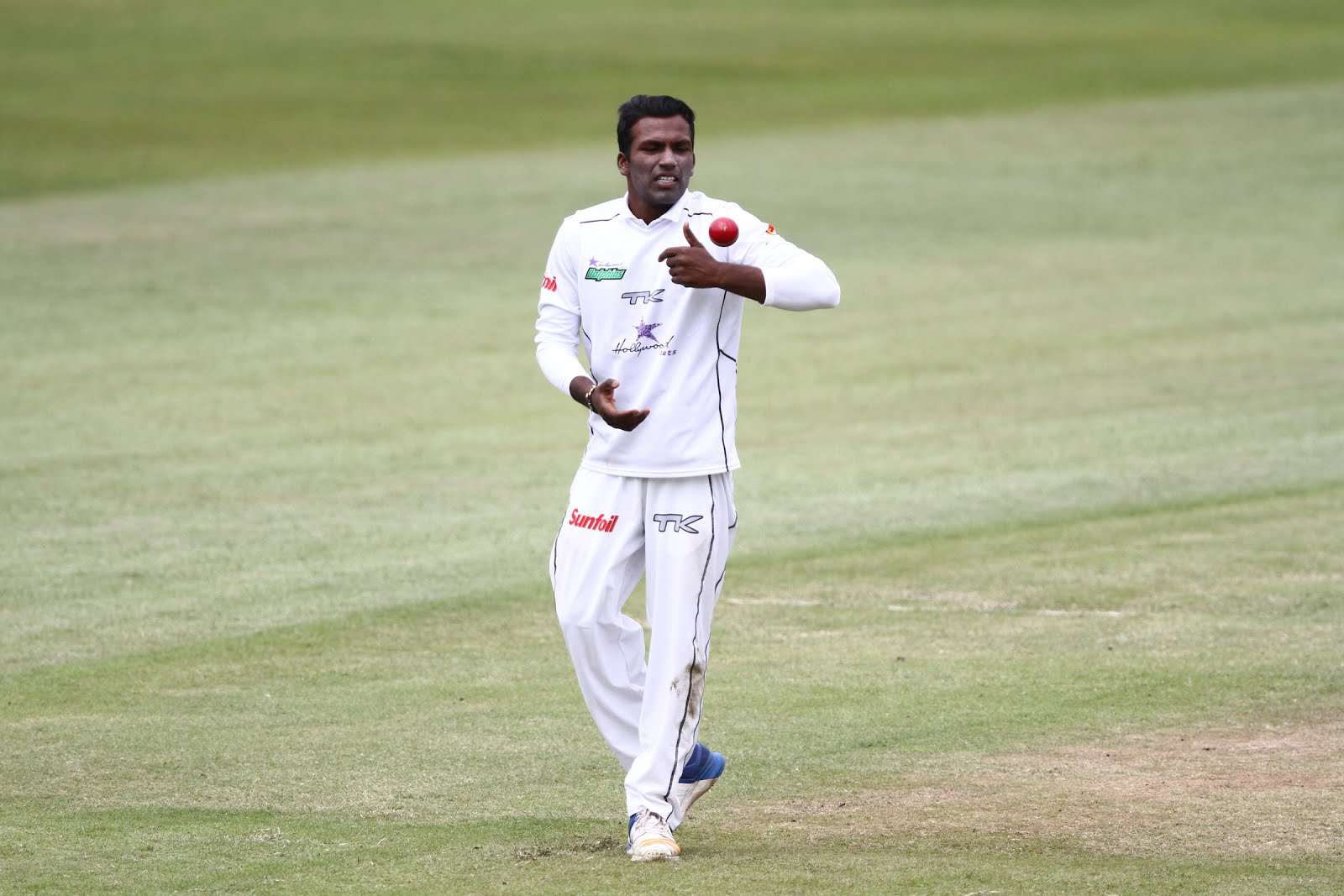Hollywoodbets Dolphins all-rounder Senuran Muthusamy