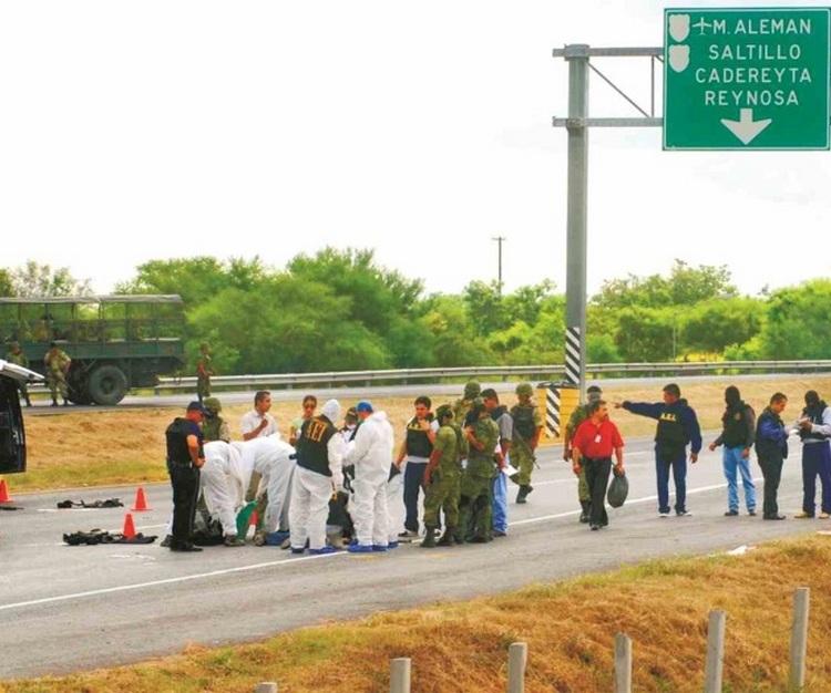 Aterran en autopista. Atacan comandos en carretera Reynosa–Monterrey