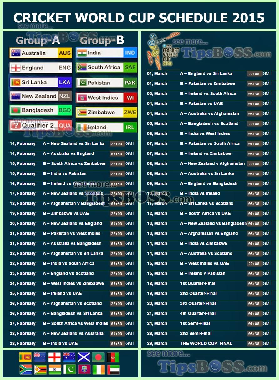 Icc World Twenty20 Fixtures Pdf