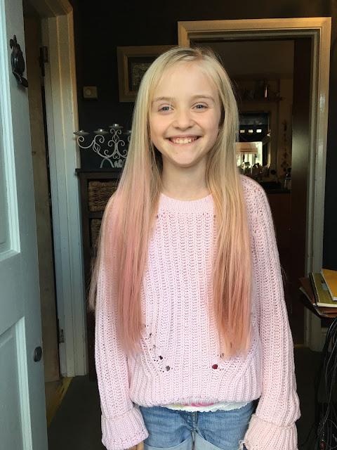 pastel pink ombre hair dye
