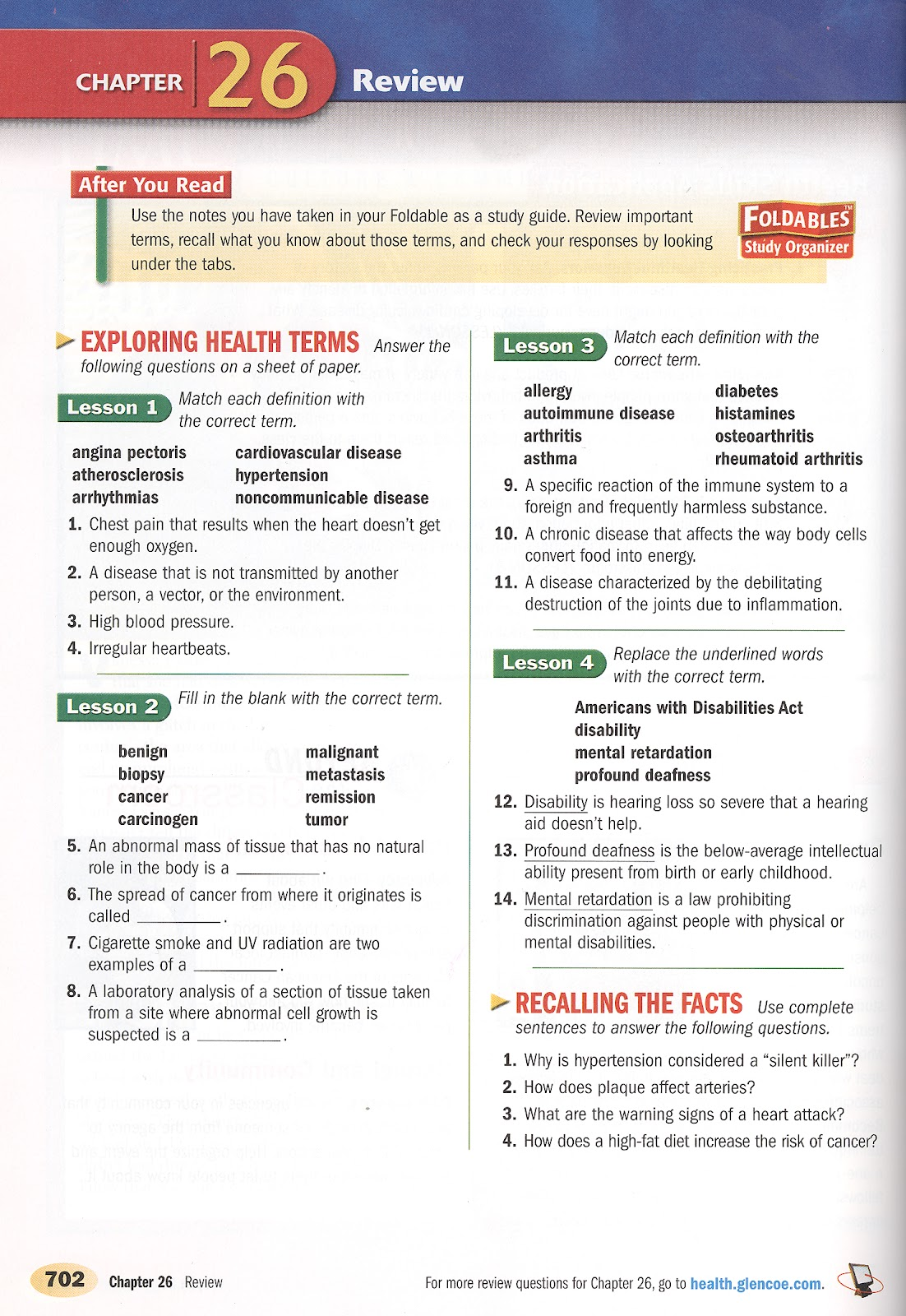 Chapter 24 sexually transmitted diseases and hiv/aids worksheet answers