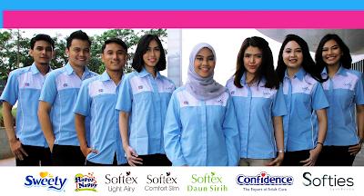 Lowongan Kerja Jobs : Production Operator, Leader Packing, Recruitment Executive PT Softex Indonesia Membutuhkan Tenaga Baru Besar-Besaran Seluruh indonesia