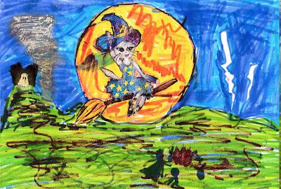 кошечка - ведьма Виолетта (добрая)