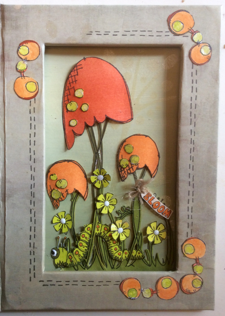 JOFY Notebook Holder Clare Charvill Paperartsy