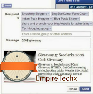 How to easily share blog post automatically to all Facebook Group Pages