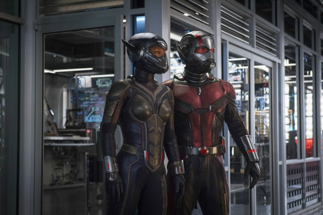 Movie News: Ant-Man and the Wasp Trailer Premiere. Taking a look at the Ant-Man and the Wasp trailer. Text © Rissi JC / RissiWrites.com