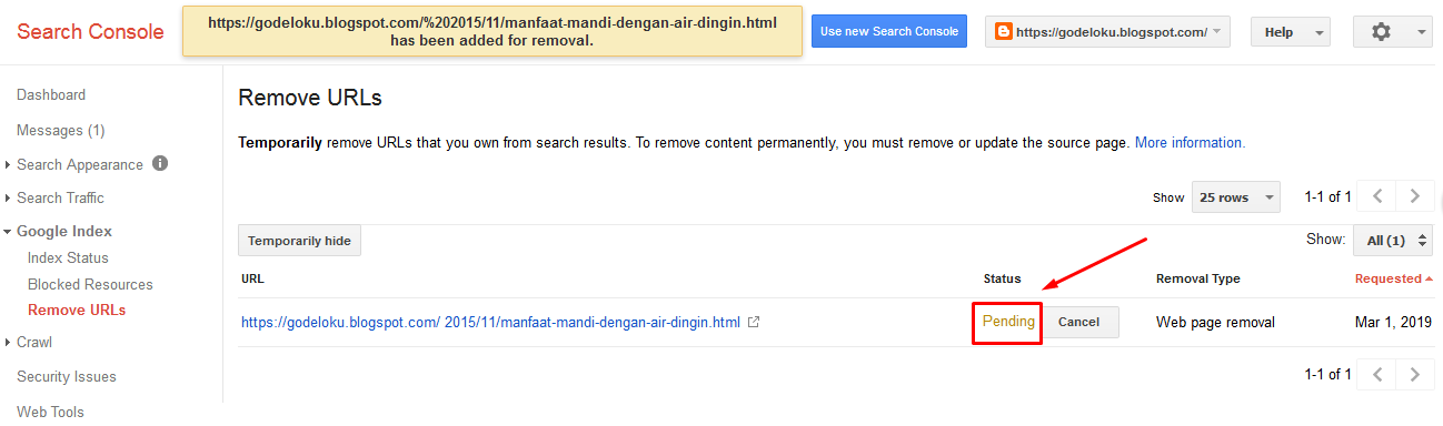 Cara Menghapus URL Artikel 404 yang Ampuh