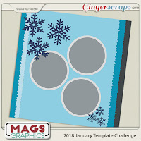 Template : January Template Challenge #1 by MagsGraphics