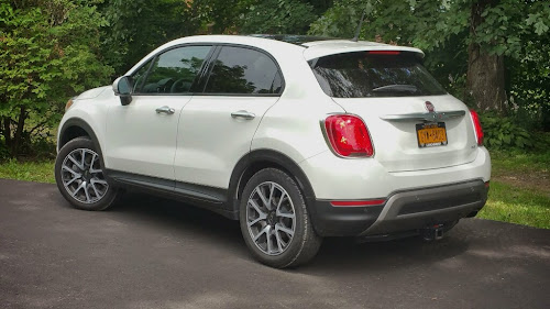 Fiat 500X ready to go
