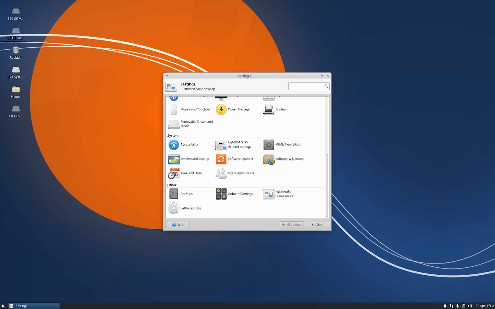 Linux on Lenovo