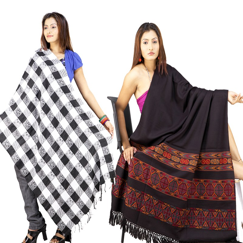 Information Hub: Customized Kashmiri Design Shawls