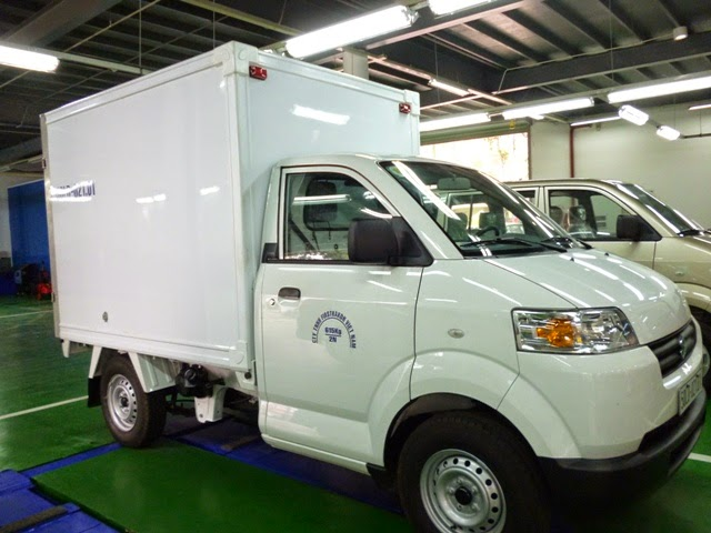 suzuki super carry Pro thùng composite