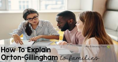 explaining orton-gillingham approach to families
